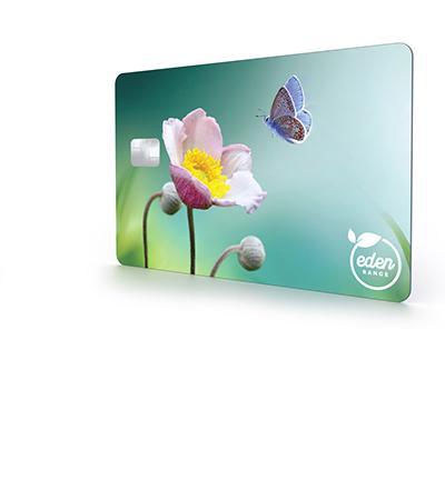 Bio PVC card material