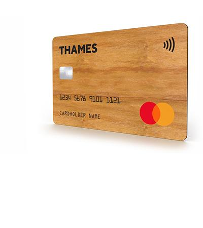sustainable card material Wood