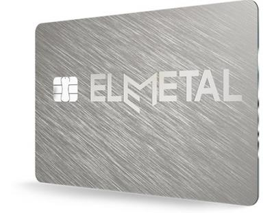 Full metal payment card