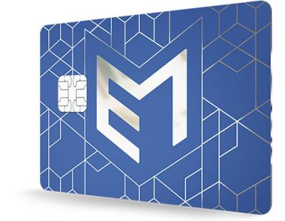 fusion metal payment card
