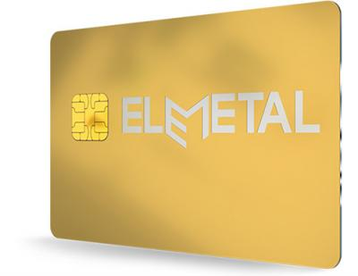 Hybrid metal payment card