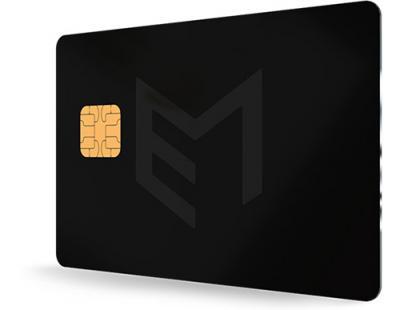 Veneer metal payment card