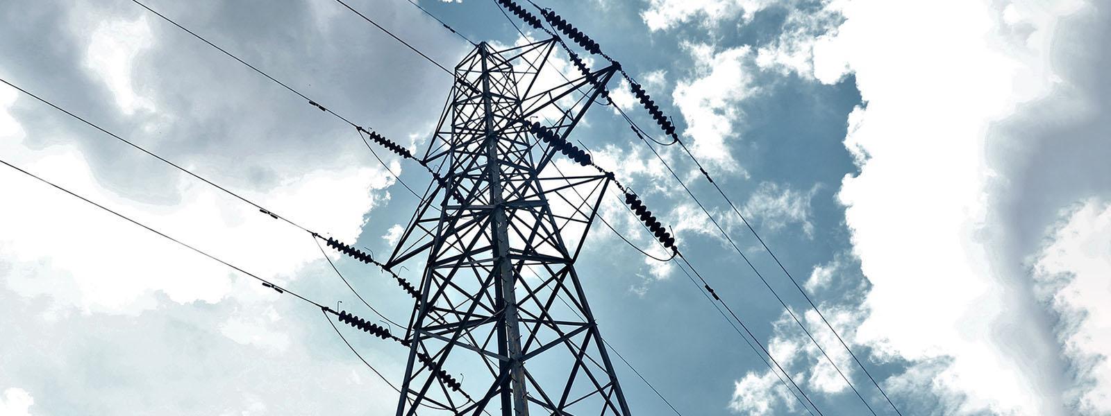 power tower providing utilities