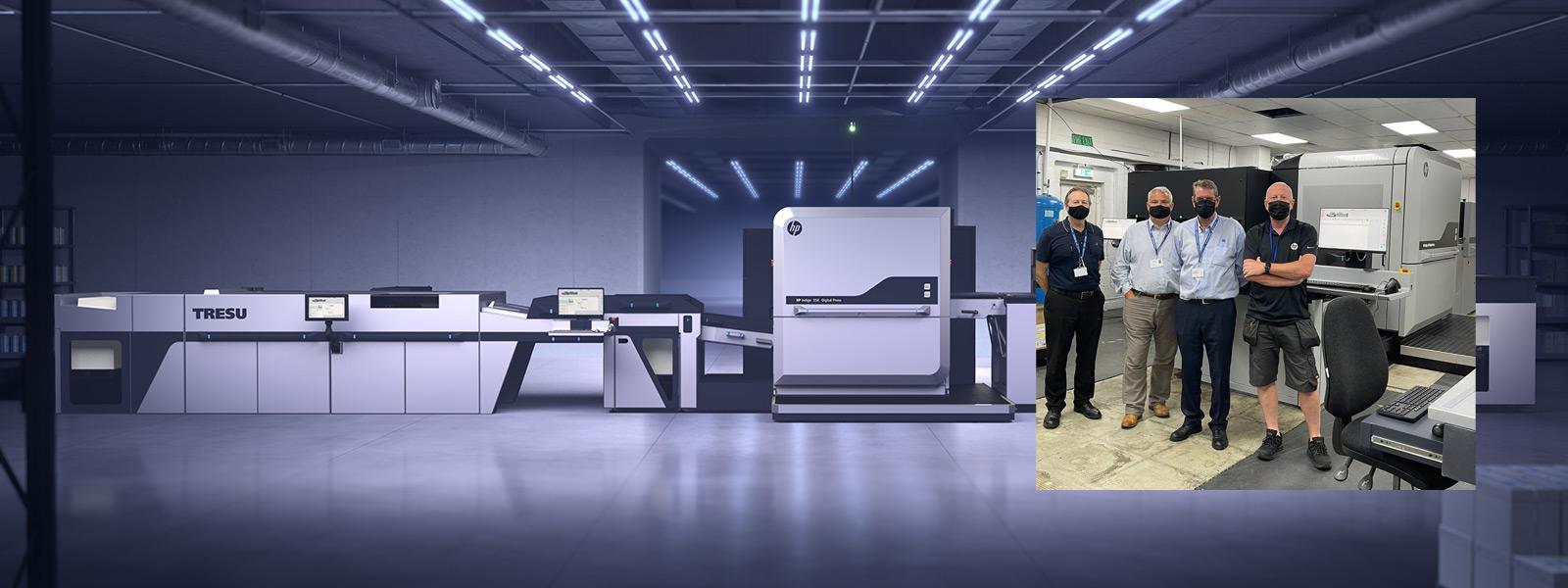 New HP Digital Press at Thames Technology