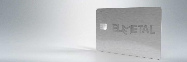 Elemetal - metal payment cards