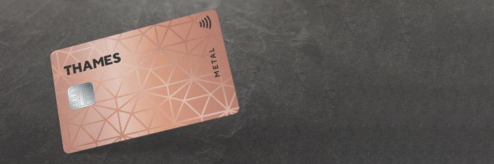 Metal payment card